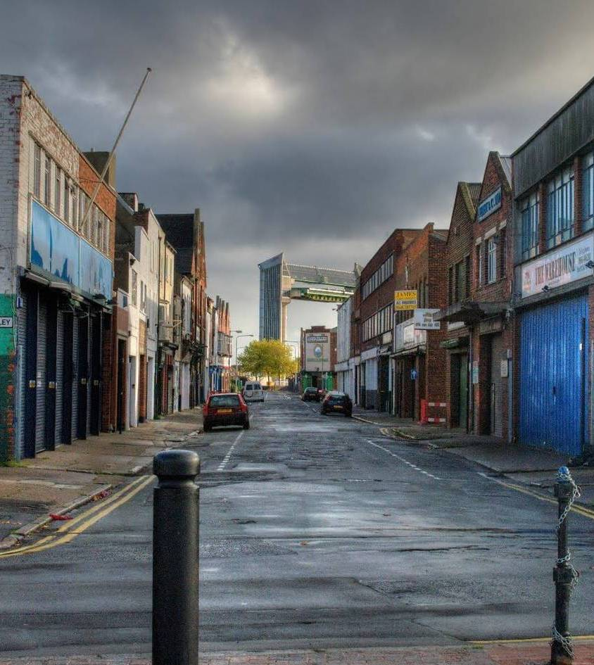 Street view of Hull