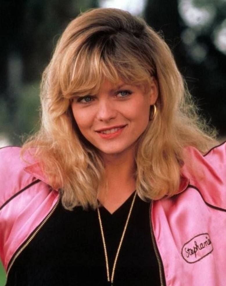 Michelle Pfeiffer as Stephanie Zinone in Grease 2