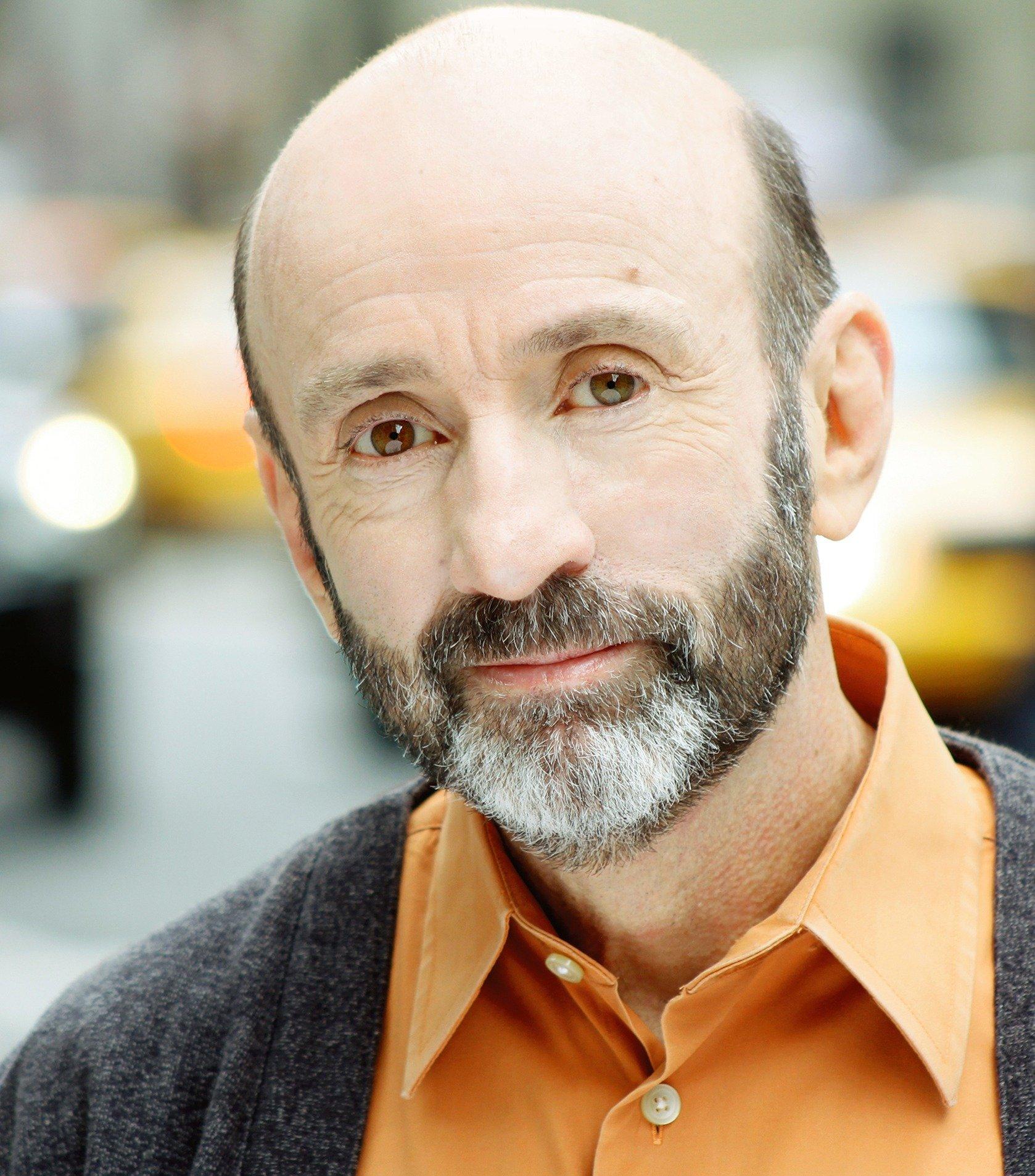 Patrick Kerr in 2016, beard