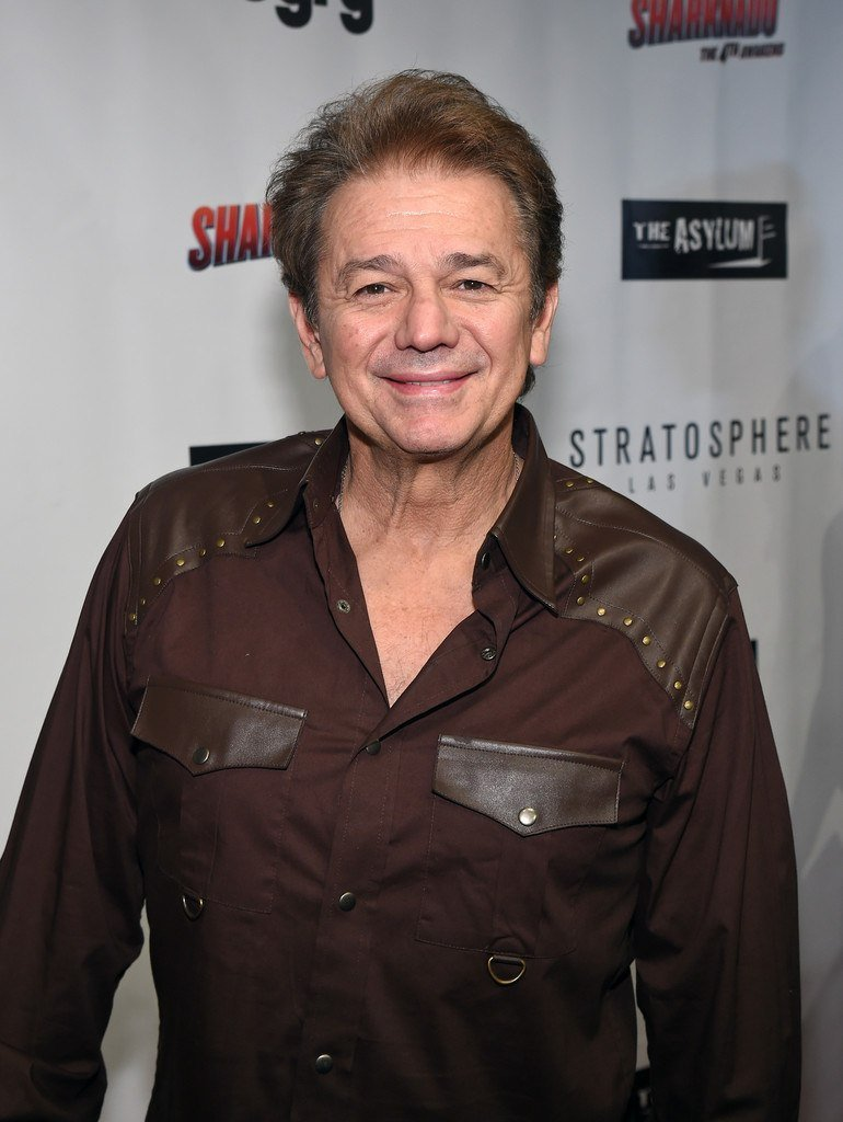 Adrian Zmed at the Sharknado 4 premiere in 2016