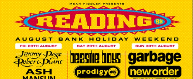 Reading Festival 1998 10 Things You Didn't Know About The Prodigy
