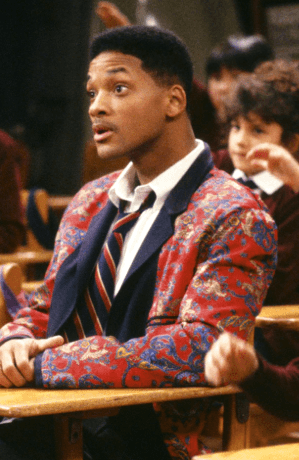 will with his inside out blazer