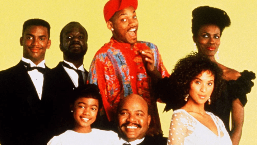 The main cast of fresh prince of bel air