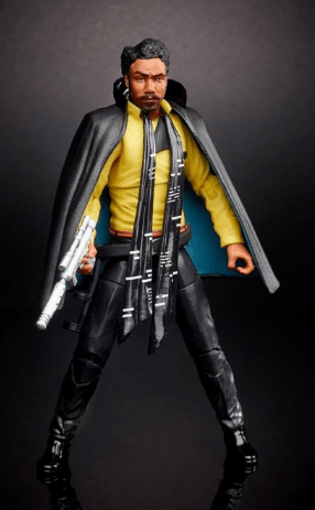 Donald Glovers Lando Calrissian figurine from Solo: A Star Wars Story