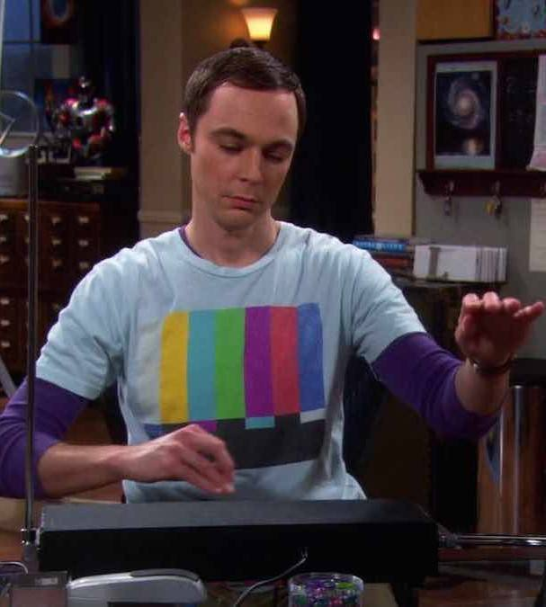 Sheldon Cooper Black Theremin Sound Instrument in The Big Bang Theory Scene 25 Things You Never Knew About The Big Bang Theory