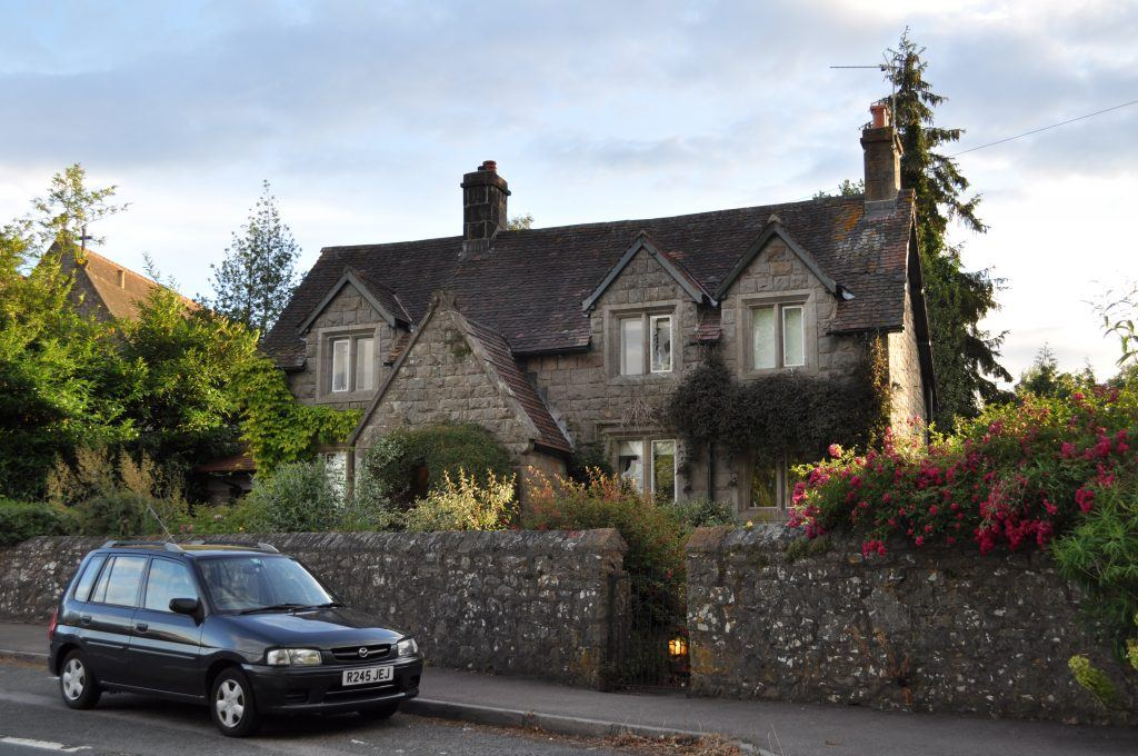 The house where J.K. Rowling lived geograph 1954642 10 Things You Didn't Know About J.K. Rowling