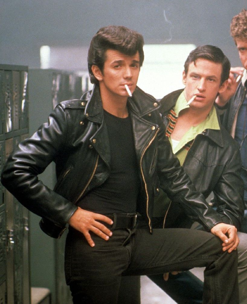 Adrian Zmed as Johnny Nogerelli in Grease 2