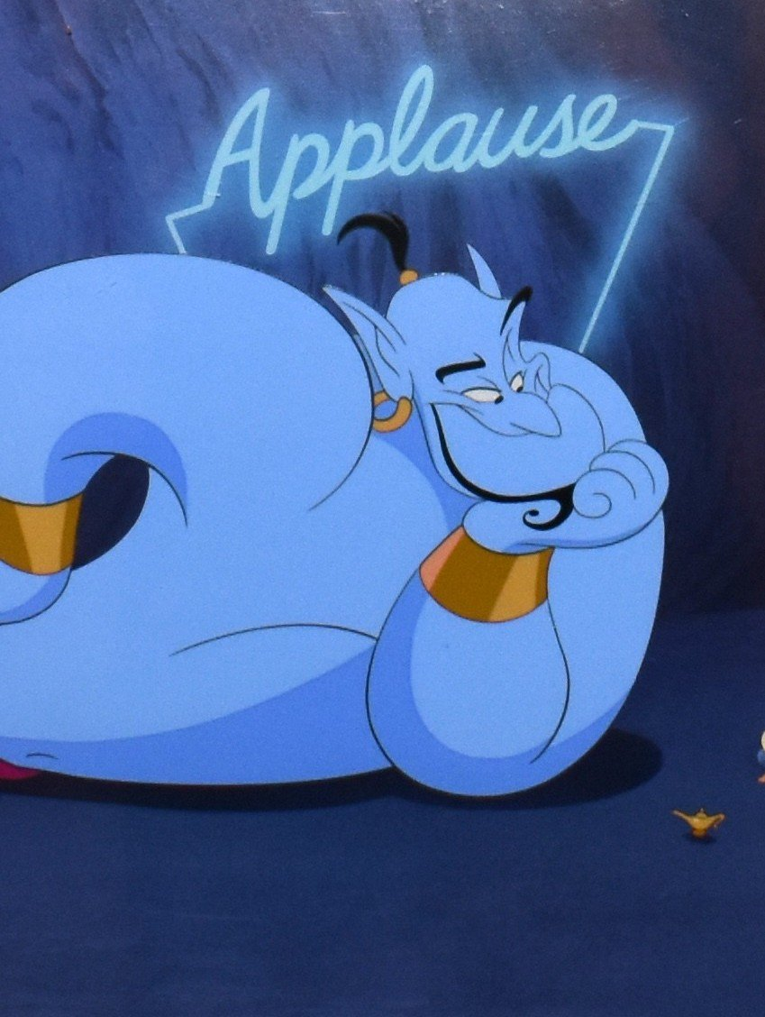 applause 66 i 20 Things You Never Knew About Disney's Aladdin