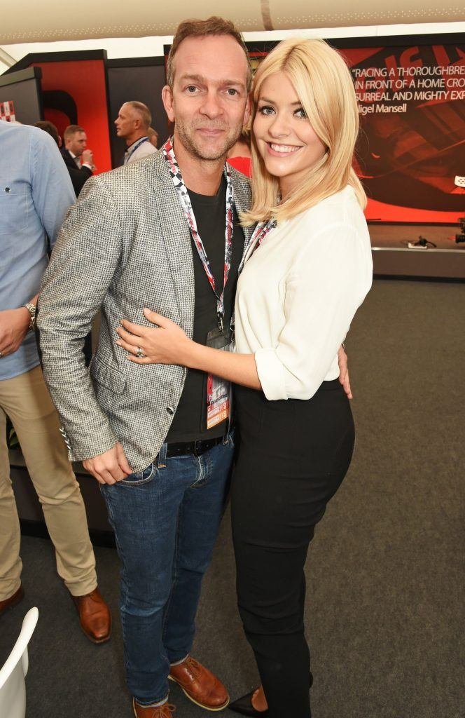 dan baldwin and holly willoughby attend the british grand news photo 546033034 1550230598 7 Things You Didn't Know About Holly Willoughby and Phillip Schofield