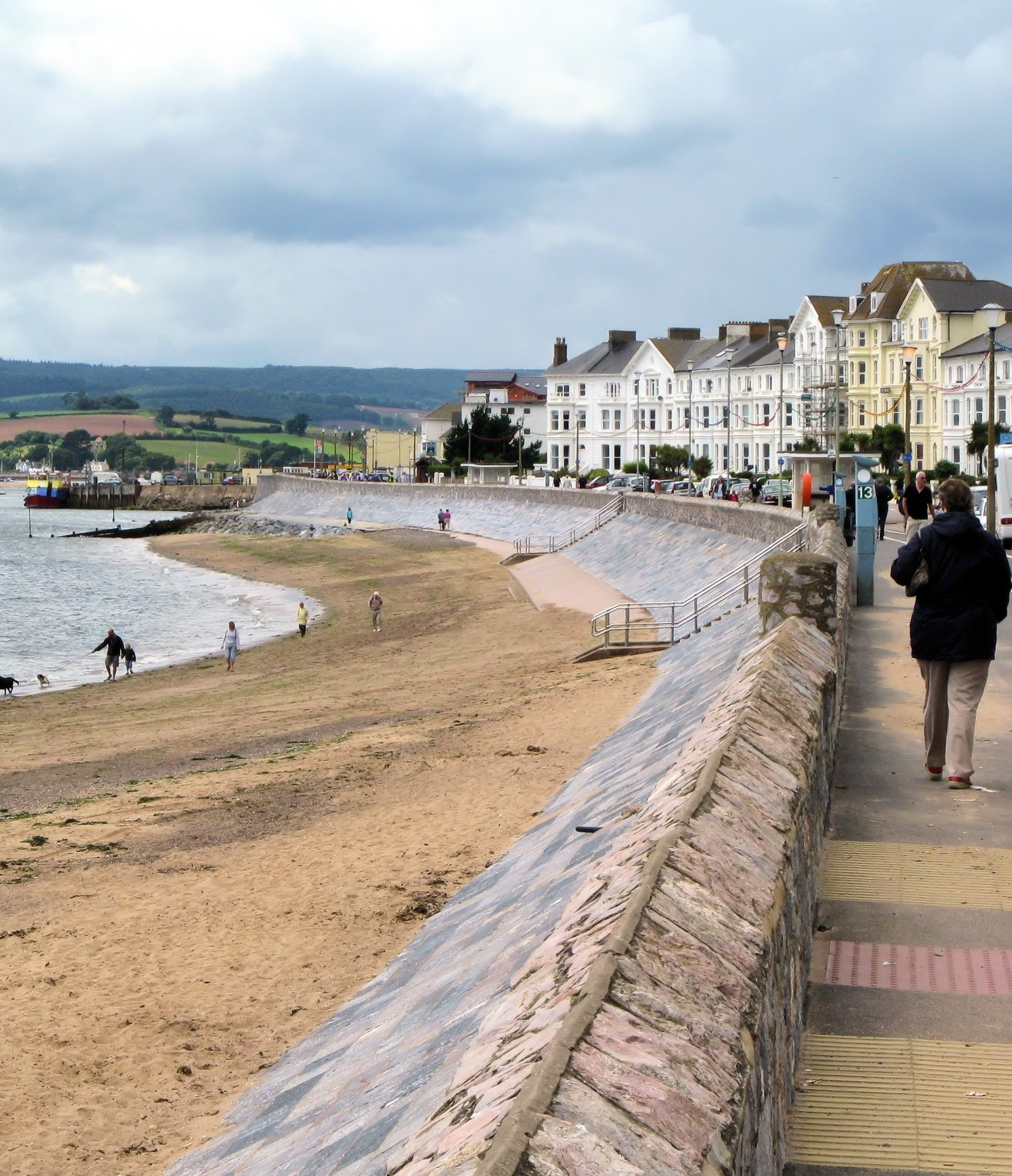 Exmouth beachfront
