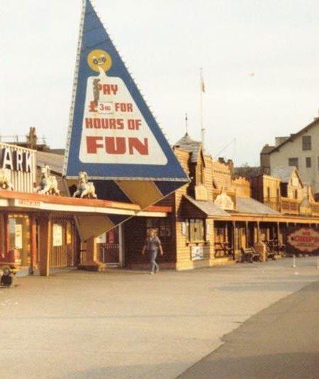 Morecambe's now defunct theme park