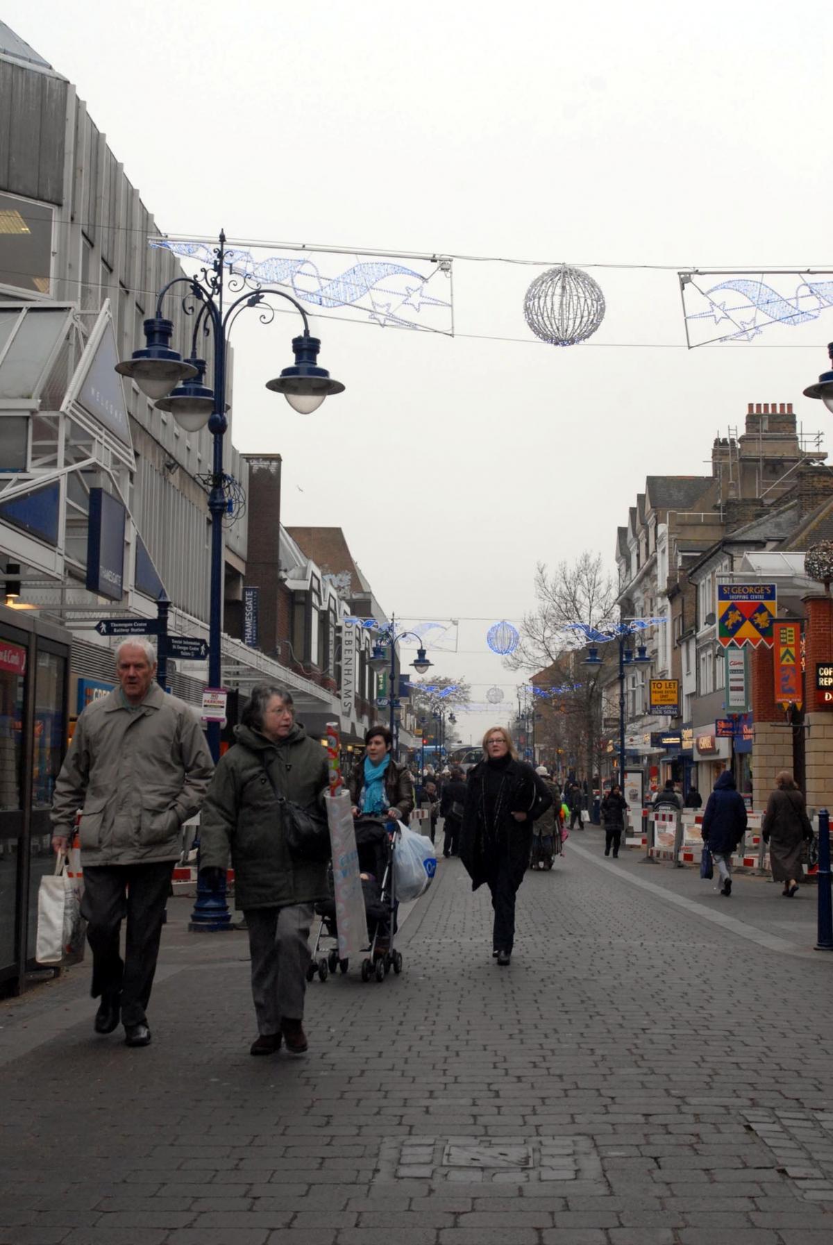 Gravesend high street
