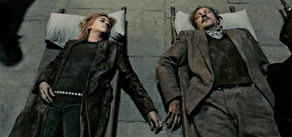 image remus lupin nymphadora tonks deceasedpng harry potter deceased png 1553 730 10 Things You Didn't Know About J.K. Rowling