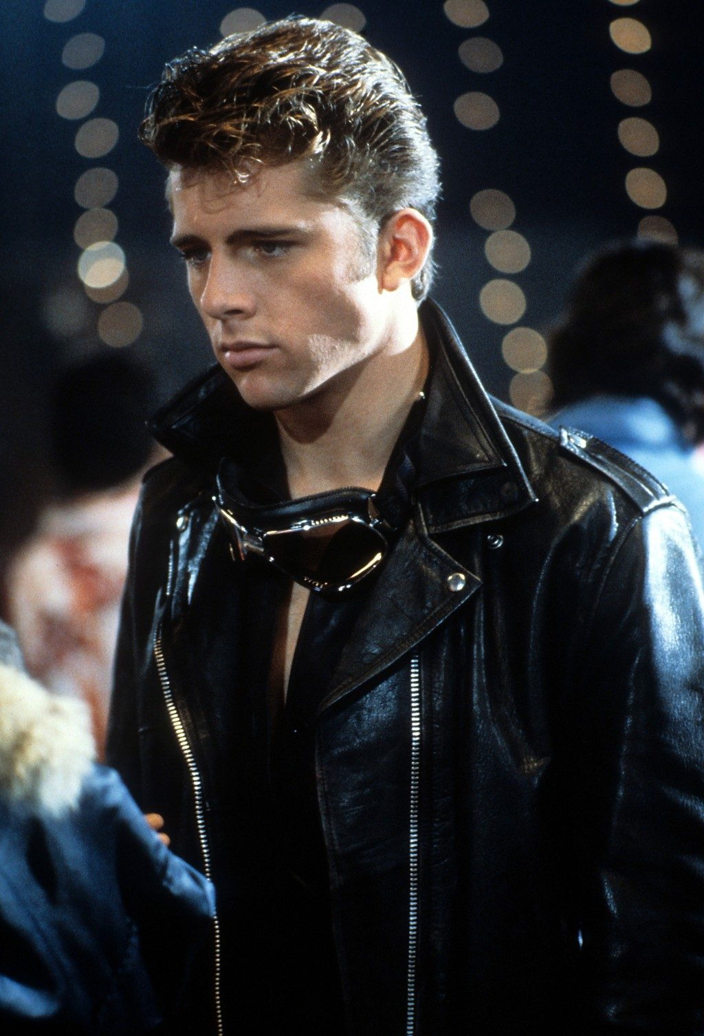 Maxwell Caulfield as Michael Carrington in Grease 2