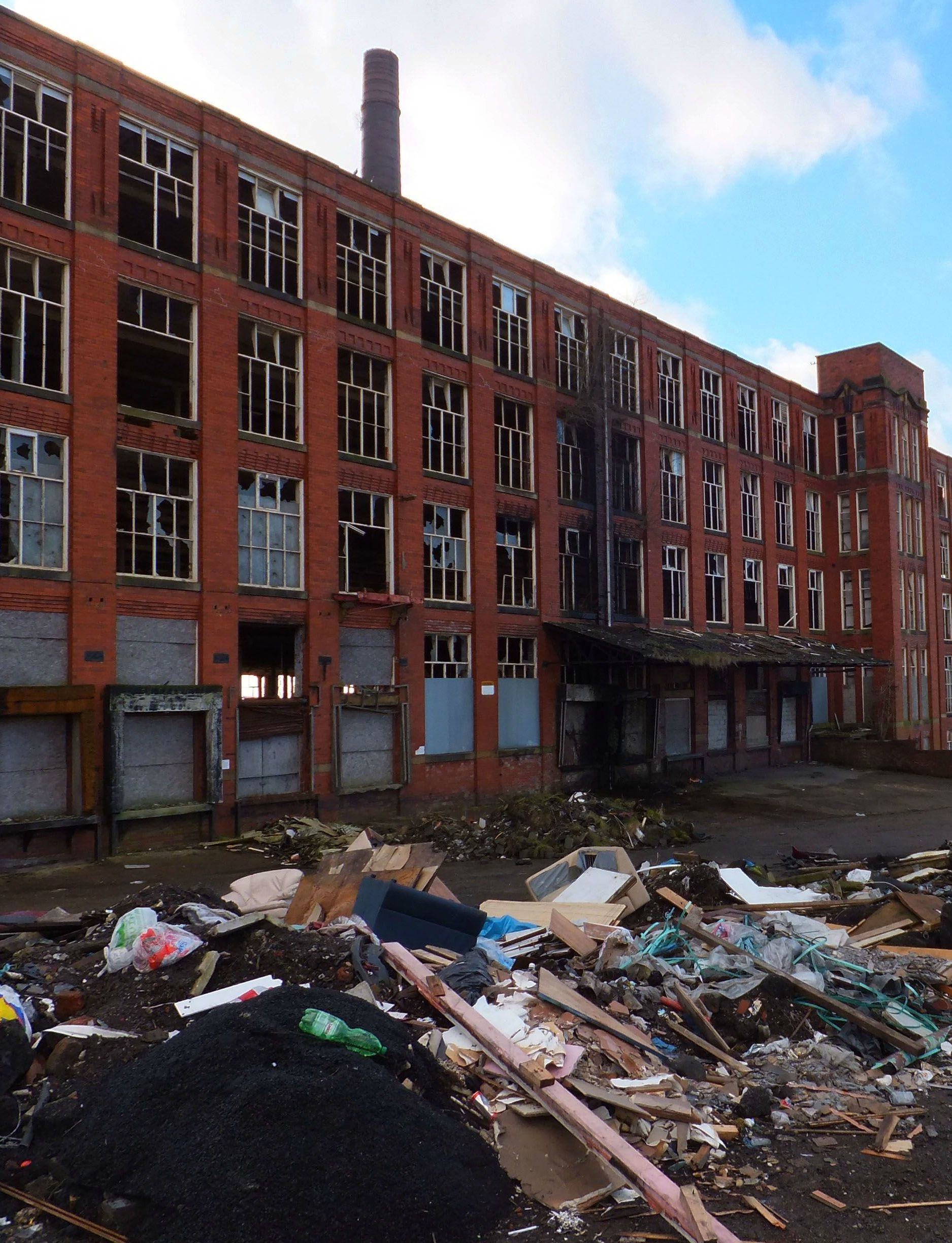 Disused factory, Oldham