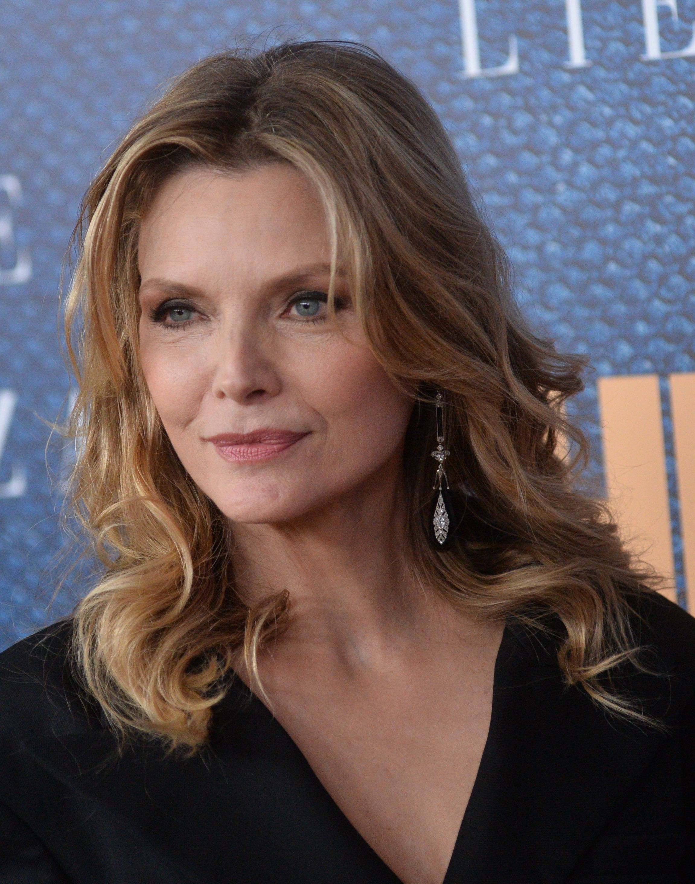 Michelle Pfeiffer at the 2017 Wizard of Lies premiere