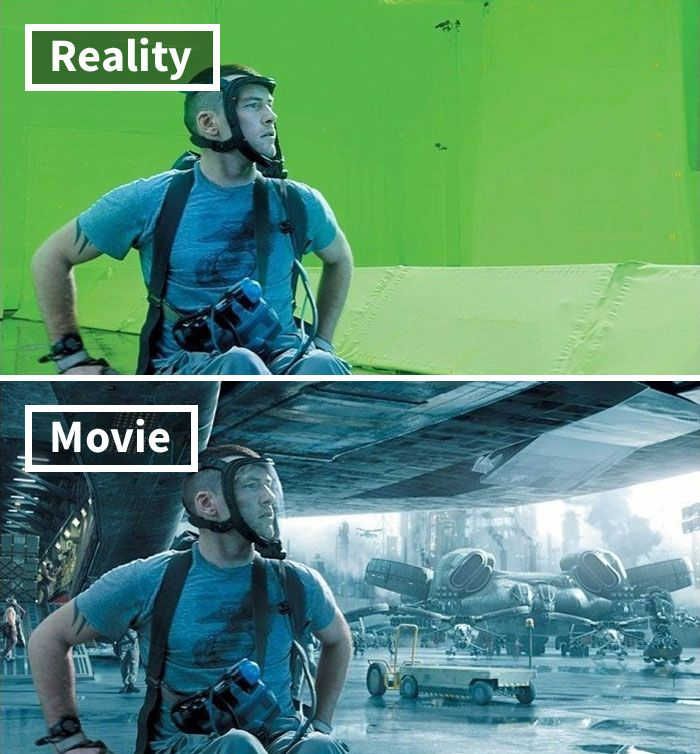 movie behind scenes entertainment movie effects 25 5c6d5faf5e1b8 700 17 Famous Movie Scenes Before And After CGI