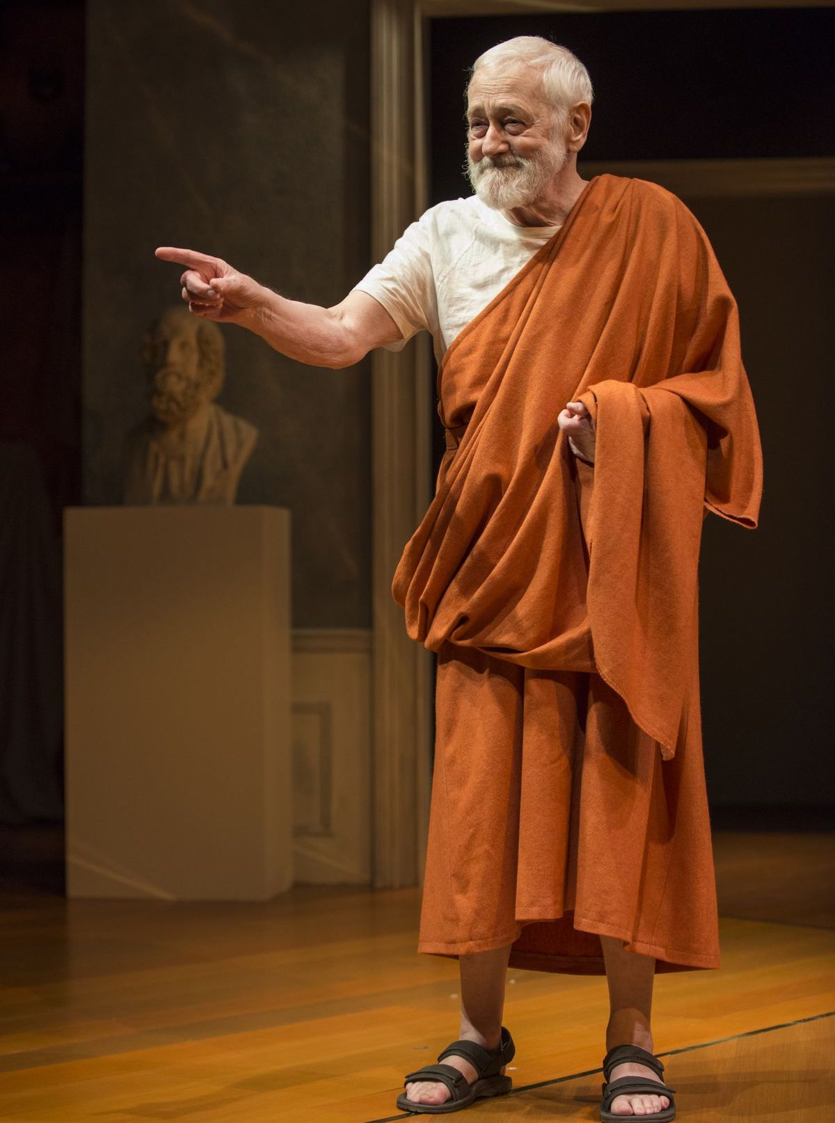 John Mahoney in stage play The Rembrandt in 2017