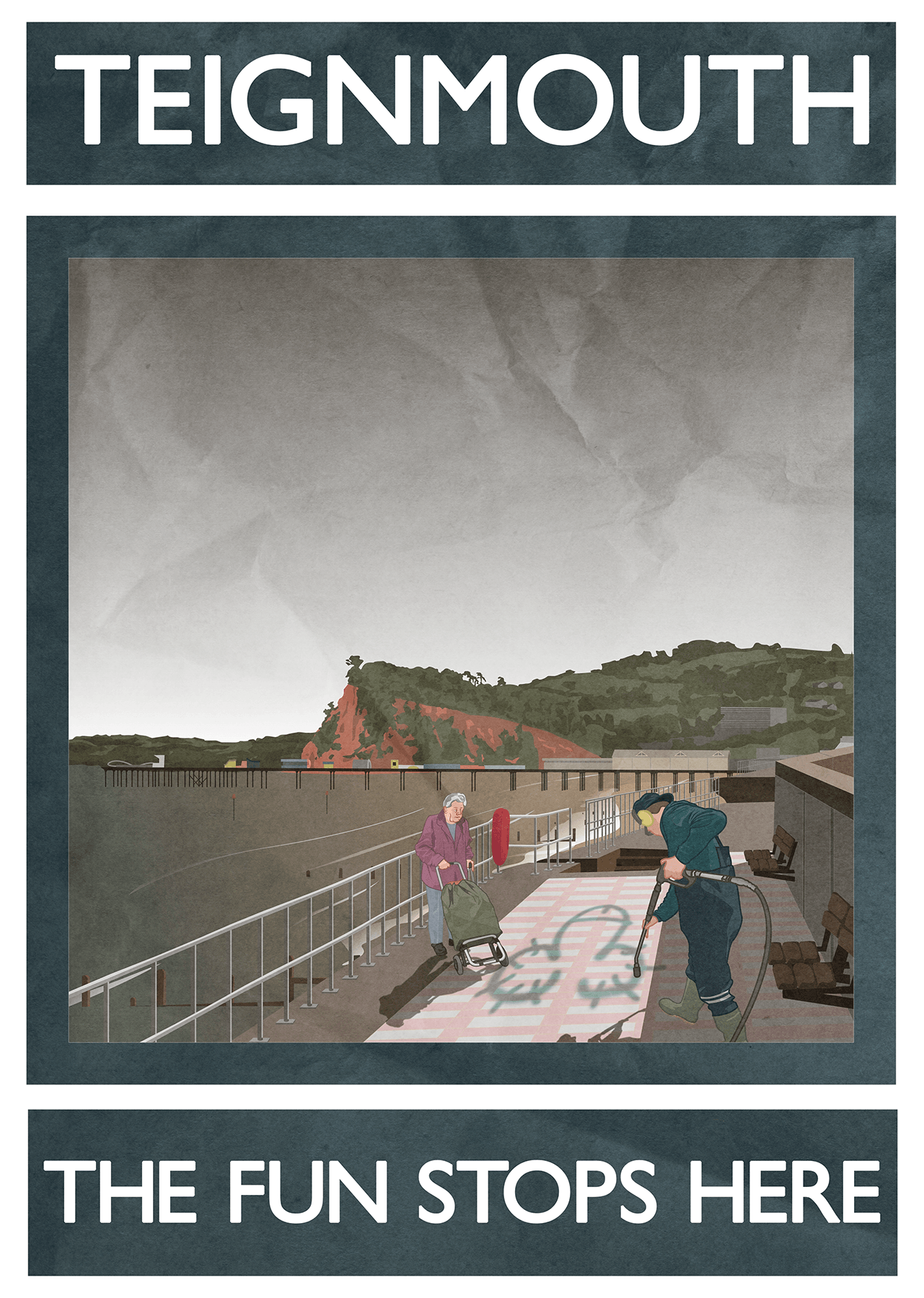Jack Hurley Teignmouth poster