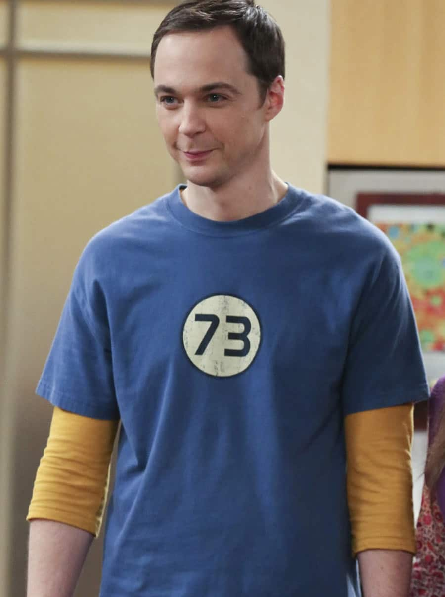 sheldon cooper 73 shirt 25 Things You Never Knew About The Big Bang Theory