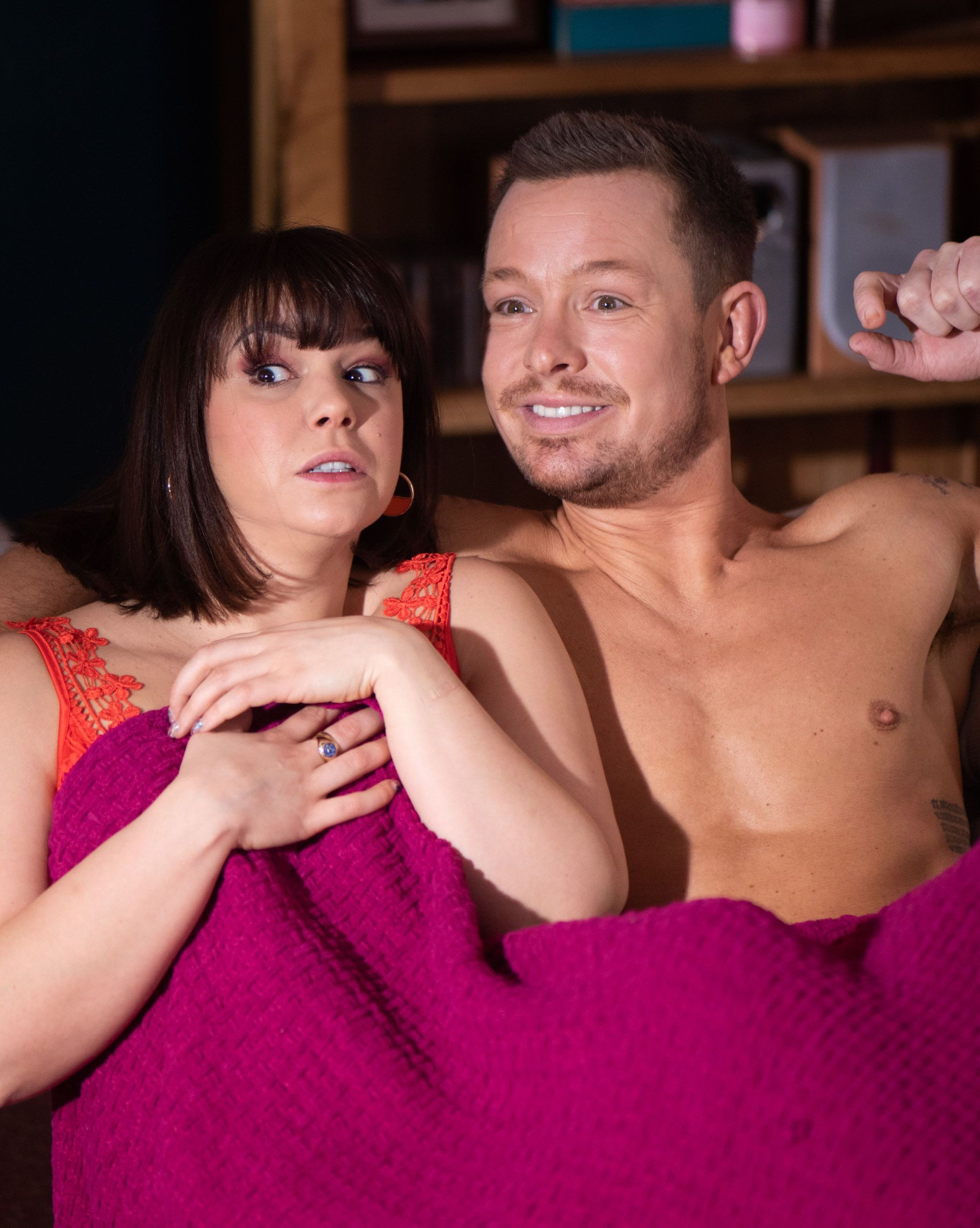 soaps hollyoaks 3 nancy kyle caught out 1 4 1547679346 10 Things You Never Knew About Hollyoaks