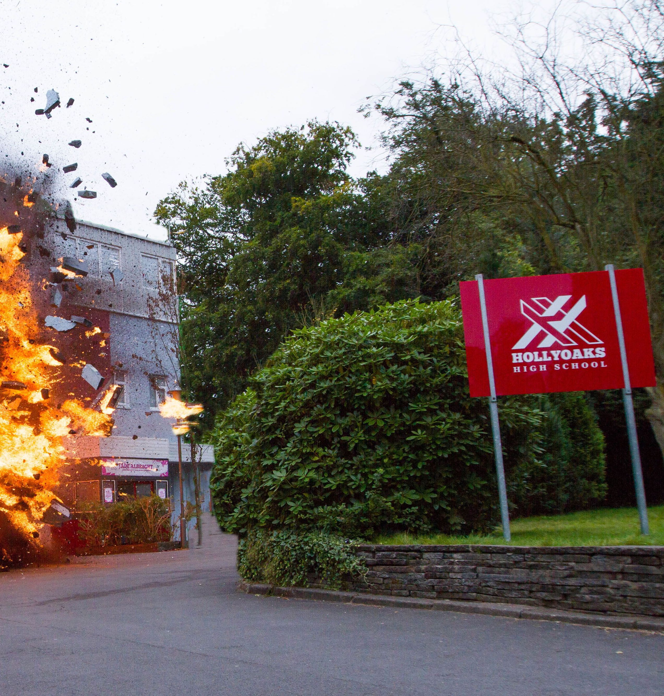 soaps hollyoaks explosion scene ce07zoh626anebvu5jgf 4 10 Things You Never Knew About Hollyoaks