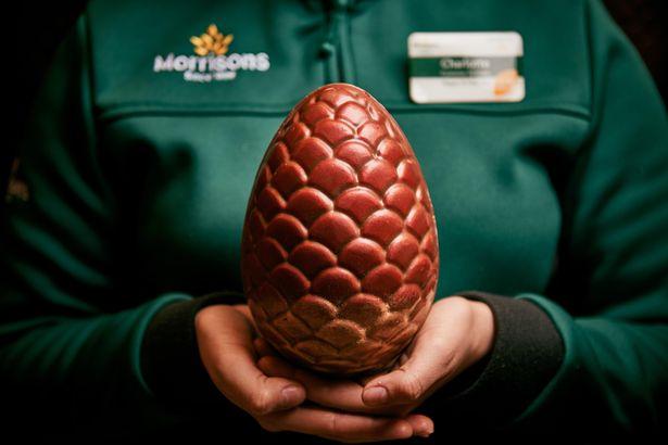0 BUCK Morrisons Dragon egg 34 Morrisons Is Selling Game Of Thrones-Themed Dragon Egg Easter Eggs
