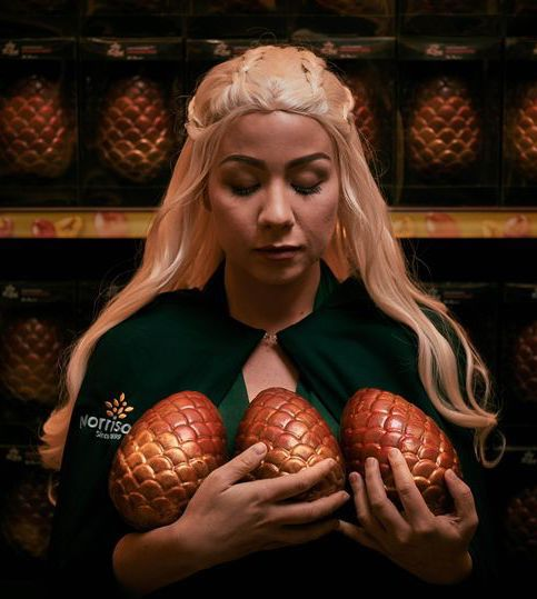 0 BUCK Morrisons Dragon egg 861 Morrisons Is Selling Game Of Thrones-Themed Dragon Egg Easter Eggs