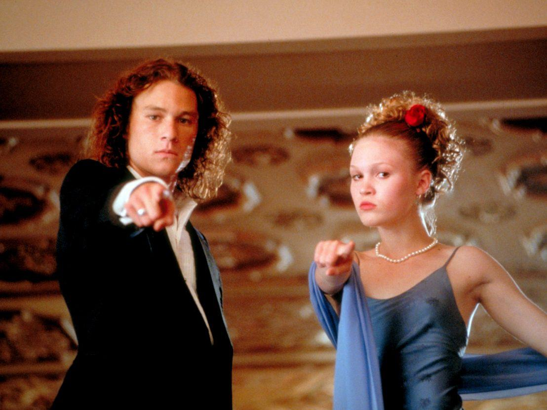 10 things i hate about you heath ledger julia stiles 1108x0 c default 10 Things You Never Knew About Heath Ledger