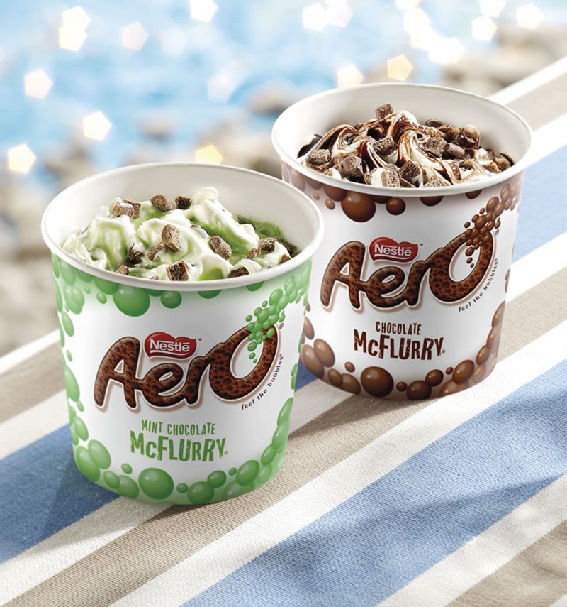 1405433689208 McDonald's Aero And Mint Aero McFlurry Are Back For A Limited Time Only