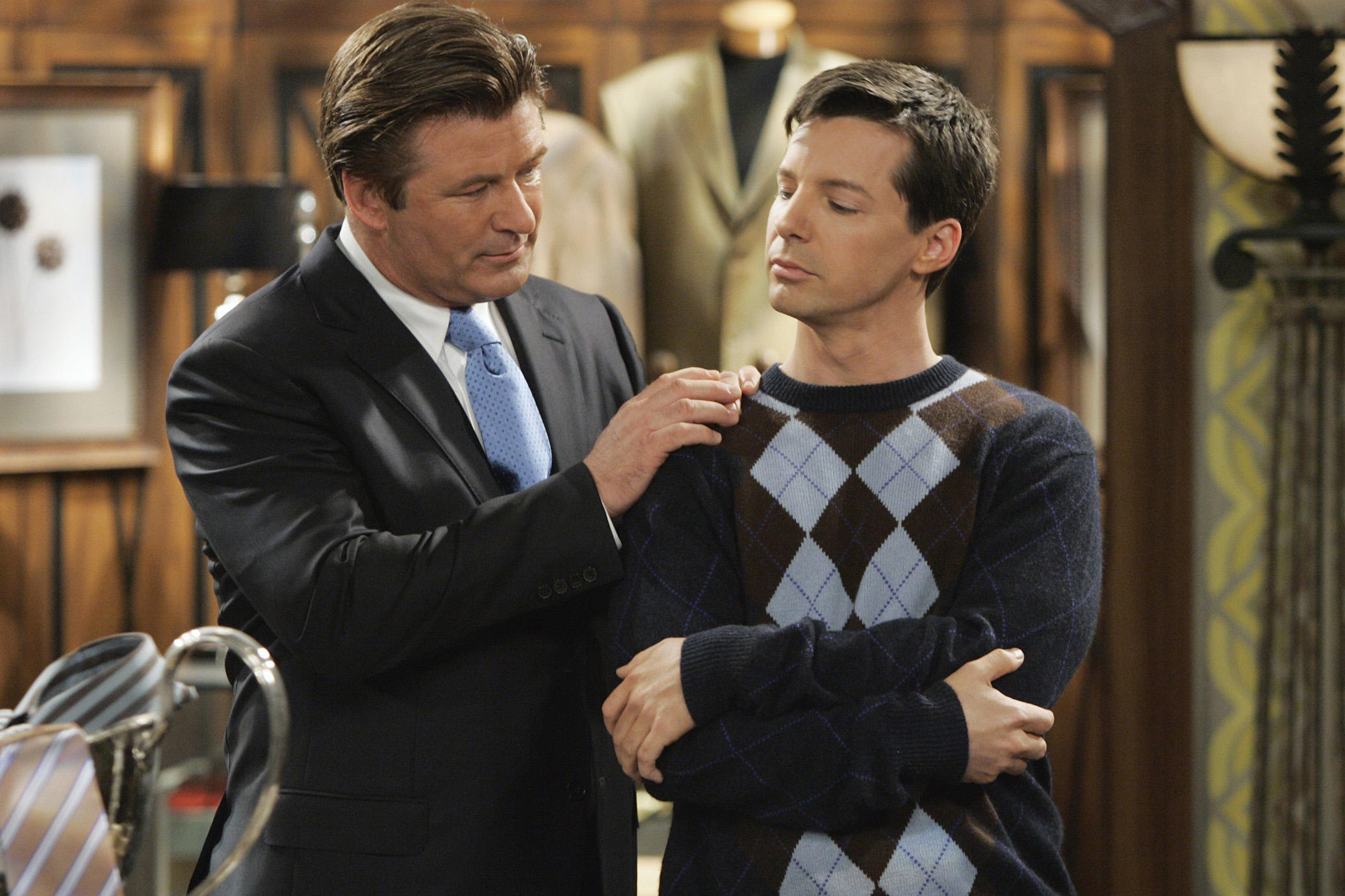 180118 alec baldwin sean hayes will and grace 25 Things You Didn't Know About Will & Grace