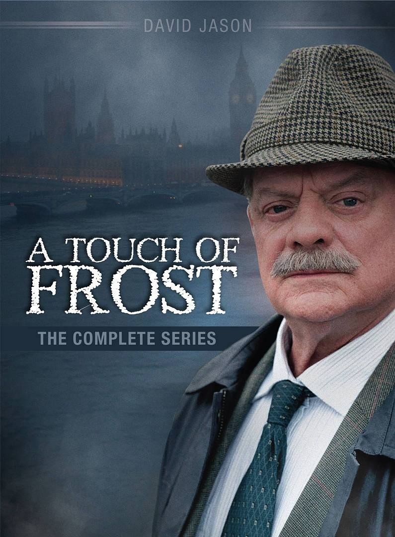 Sir David Jason as Detective Jack Frost in A Touch of Frost