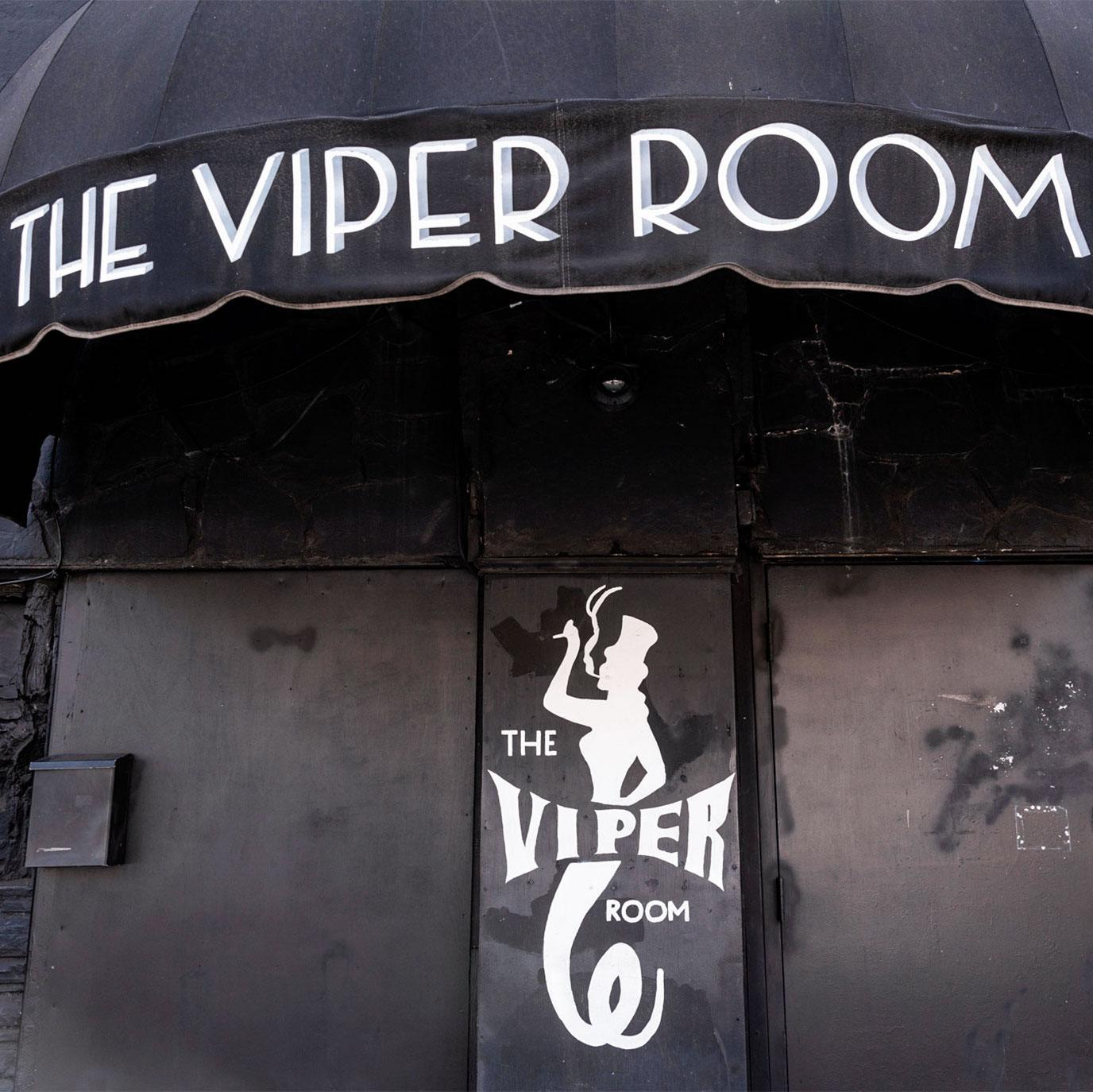 Hollywood night club The Viper Room, where River Phoenix died