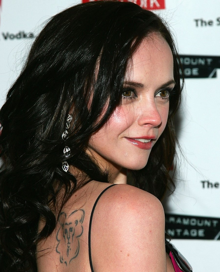 Christina Ricci The Lion, the Witch and the Wardrobe tattoo