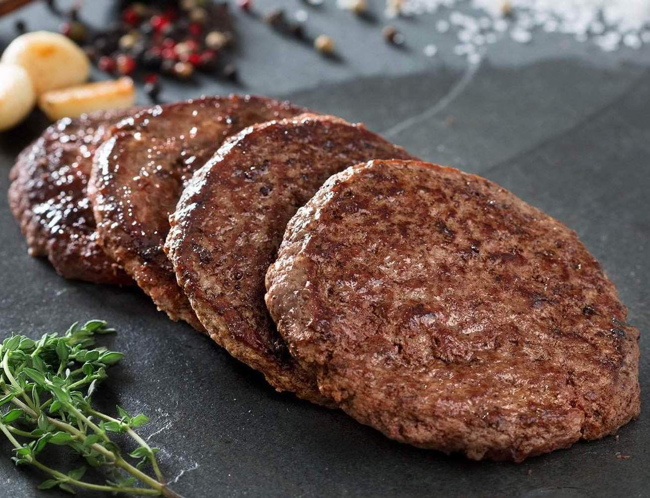 Greensbury Product Beef Patties Cooked 1600x1067 feb950a4 0f37 4e49 9d01 Asda Now Selling Donut-Shaped Beef Burgers, Because Why Not