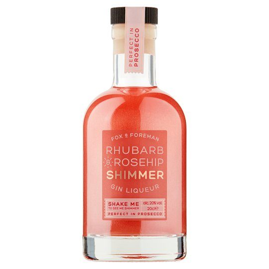 Tesco Now Selling Its Rhubarb Shimmer Gin For Just £6