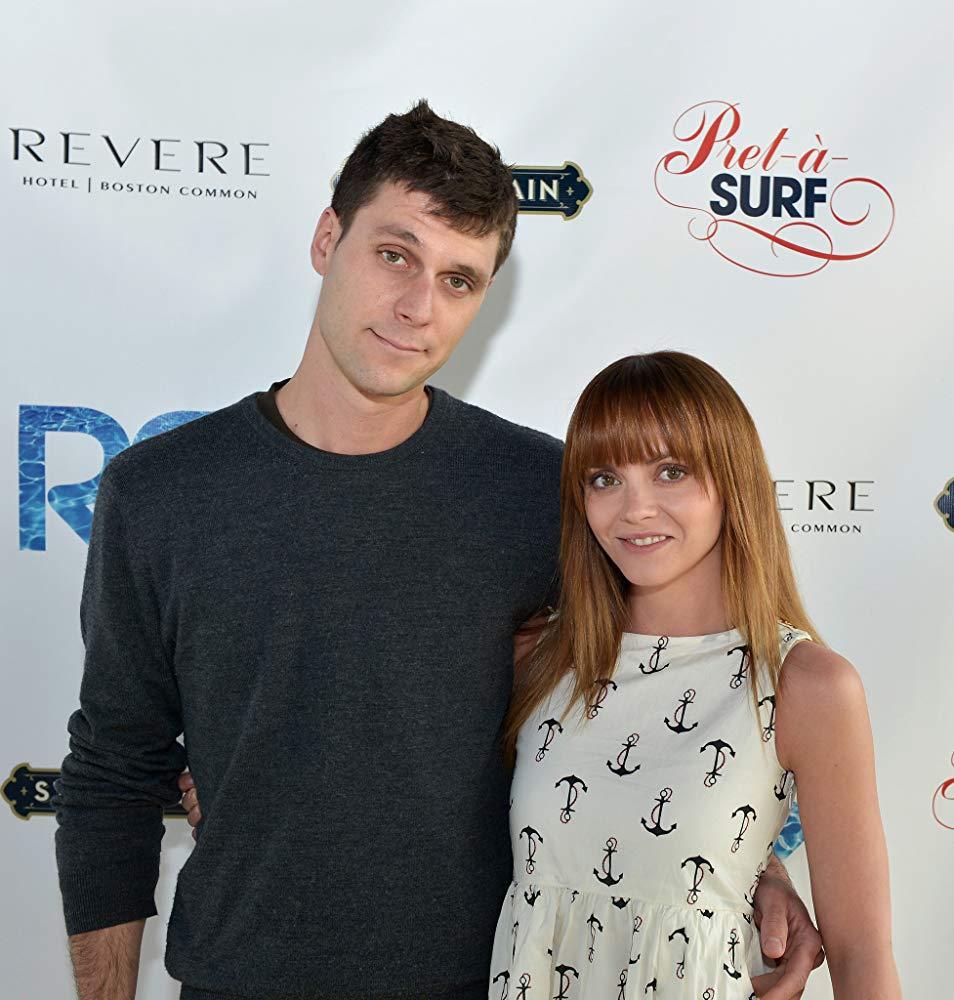 Christina Ricci with husband James Heerdegen on the red carpet