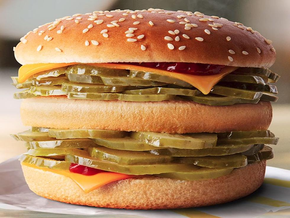 McPickle Burger McDonald's All-Pickle Burger April Fool's Prank Backfires As It Turns Out There's Actually High Demand For It