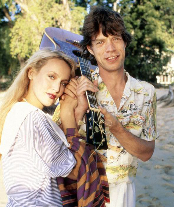 Mick Jagger Jerry Hall 251643 12 Things You Didn't Know About Mick Jagger