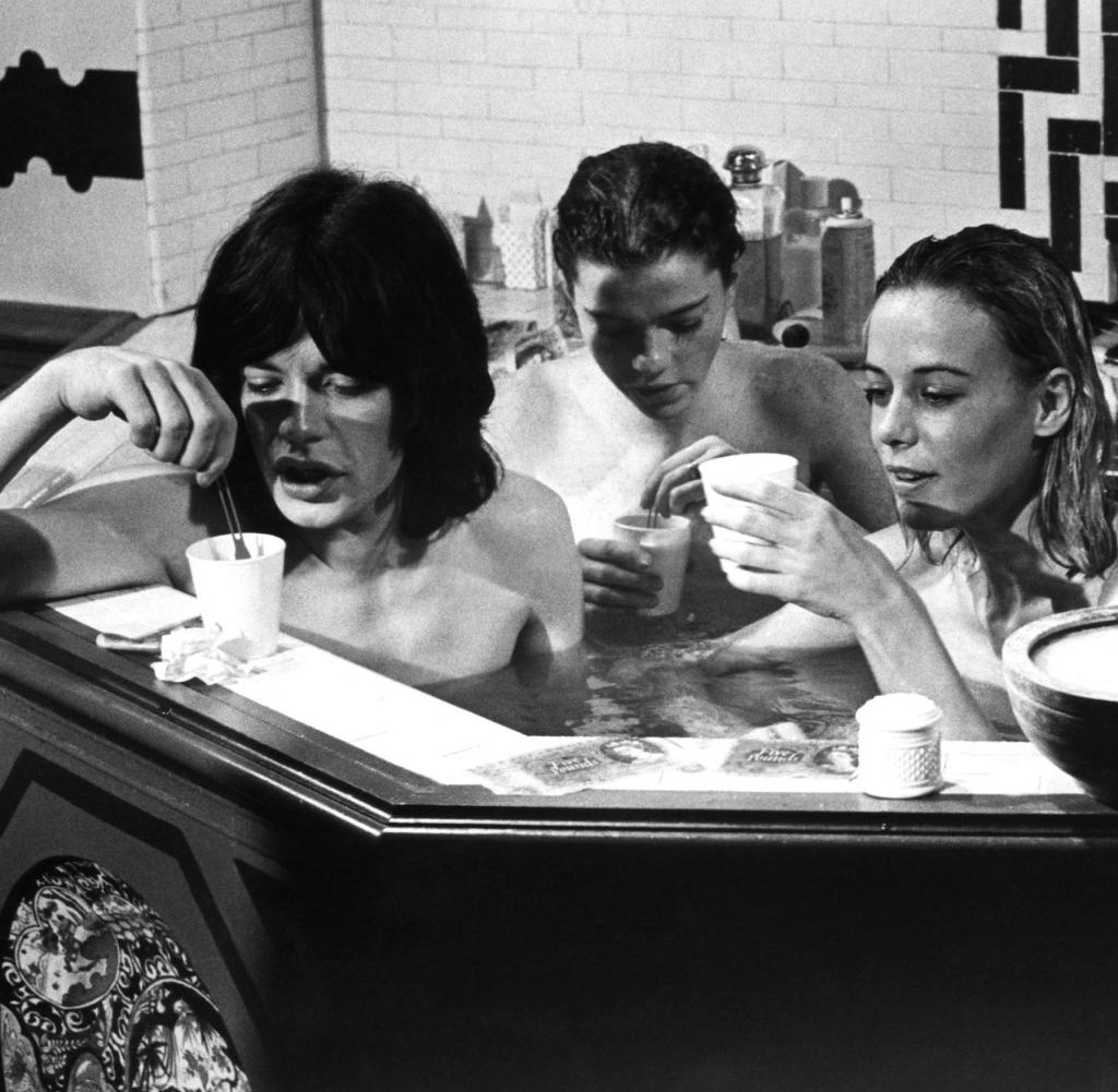 PERFORMANCE Mick Jagger Michele Breton Anita Pallenberg 1970 12 Things You Didn't Know About Mick Jagger