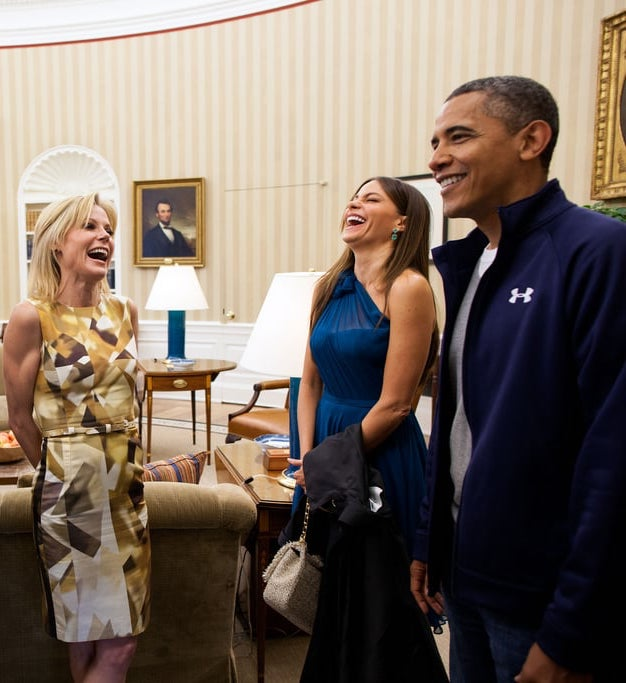 President Obama laughed alongside Modern Family Sofia Vergara 10 Things You Never Knew About Modern Family