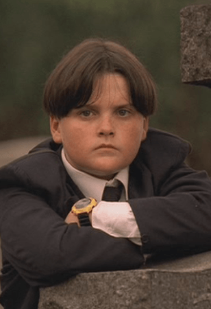 Robert Iler playing AJ Soprano as a young boy