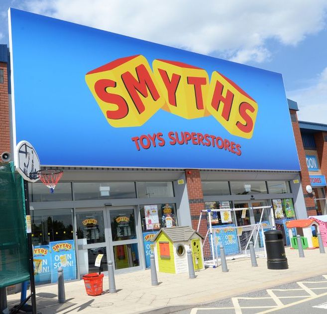 Smyths Toy Superstore Airport Retail Park Coventry Opening soon Sneak preview pictures Smyths Toys Giving Away Free Lego In All Its Stores This Weekend