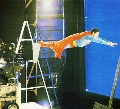 Superman IV BTS 3 24 Things You Probably Didn't Know About Christopher Reeve's Superman Films
