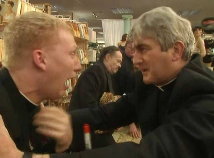 a christmassy ted 2 10 Things You Didn't Know About Father Ted!