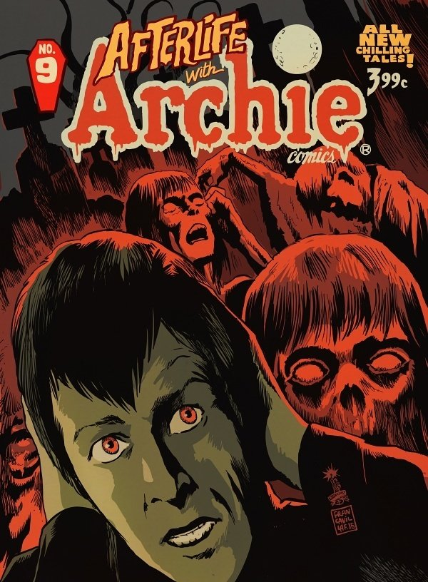 afterlife with archie 09 2nd cover francavilla low 20 Things You Missed In The Chilling Adventures Of Sabrina