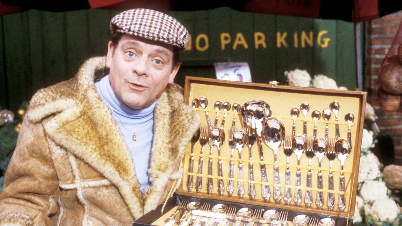 Sir David Jason as Del Boy in Only Fools and Horses