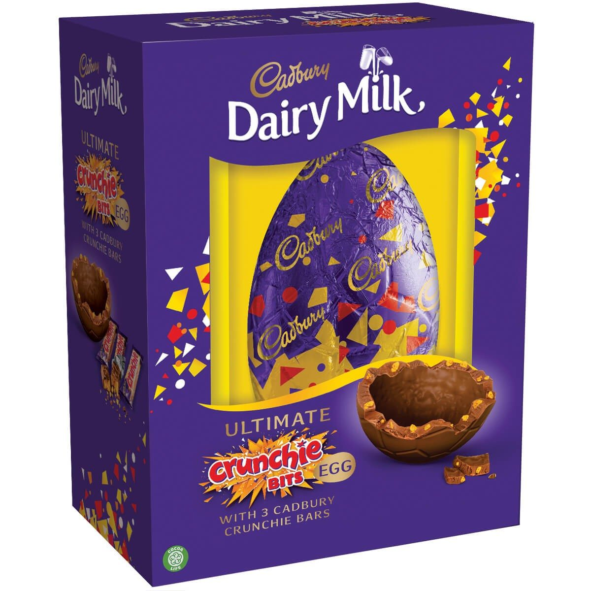 cdm ultimate crunchie bits egg How To Get A FREE £12 Cadbury Chocolate Egg Just In Time For Easter