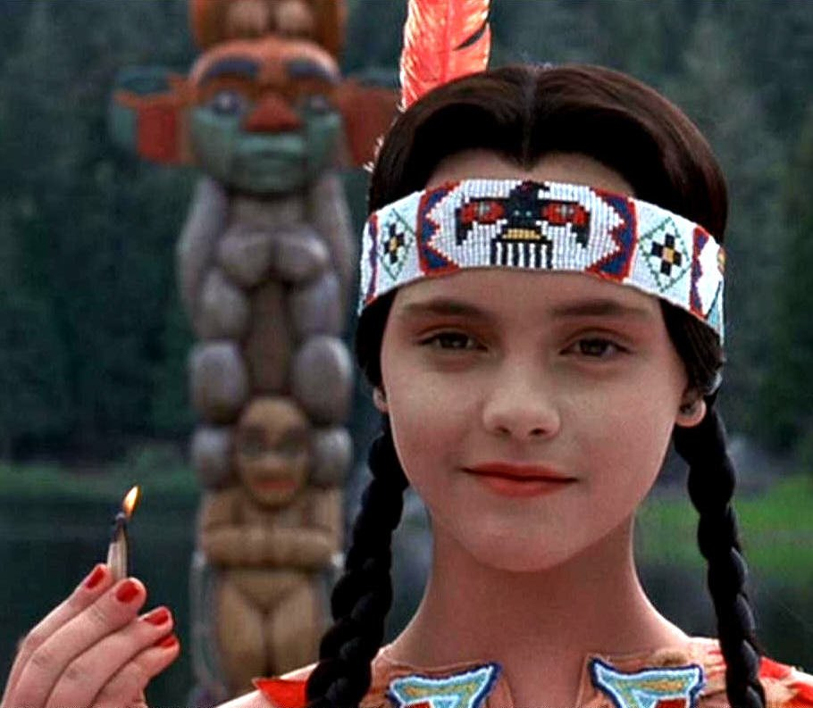 Christina Ricci as Wednesday Addams in Addams Family Values (1993)