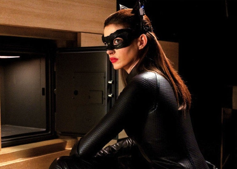 dark knight rises anne hathaway catwoman image 25 Things You Didn't Know About Les Misérables (2012)